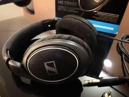 Headphone Sennheiser HD 598SR na Caixa
