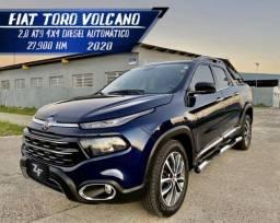 Título do anúncio: Fiat Toro Volcano AT9 4x4 Diesel 2020 abaixo da fipe