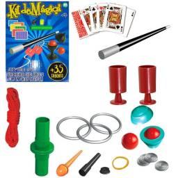 kit de magica  28 peças novo lacrado