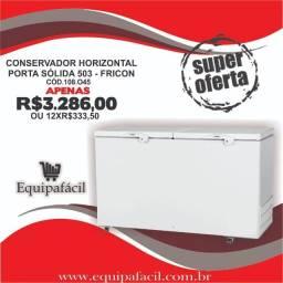 freezer conservador 500 litros c/ 2 anos de garantia - Ricardo 47- *