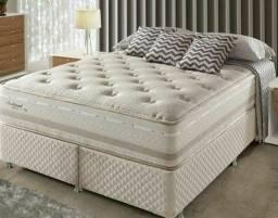 Título do anúncio: Colchão Queen Molas Herval + cama  box!!!  Em até 12x... A pronta entrega