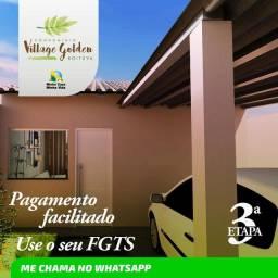 Título do anúncio: CASA EM BOITUVA NO CONDOMÍNIO VILLAGE GOLDEN