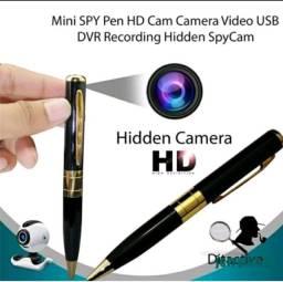Título do anúncio: Caneta câmera espiã áudio e vídeo