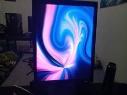 Monitor 21.3 com ajuste - Ótimo para quem quer usar como segundo monitor