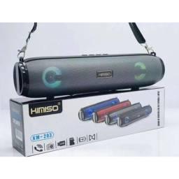 Caixa De Som Bluetooth Usb Fm Aux Portátil Kimiso Km-203