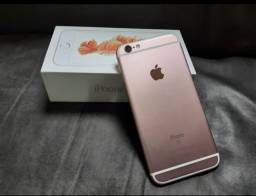 IPhone 6s Plus 128gb Rose Completo