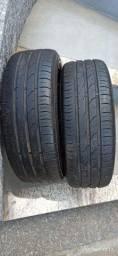 Par pneus aro 16 torrando desocupar espaço