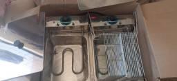 Fritadeira eletrica 220v inox