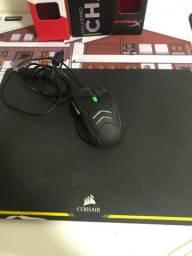 Título do anúncio: Kit Gamer , Mousepad Corsair e mouse Multilaser