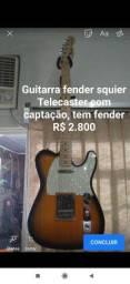 Guitarra fender Telecaster squier captação strato American