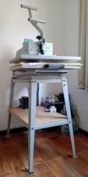 Título do anúncio: Prensa sublimadora e transfer manual Maquinatec 40x60 Bandeja Deslizante branca