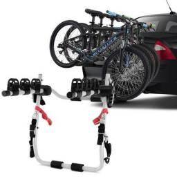 Título do anúncio: Suporte veicular para 3 Bicicletas semi novo