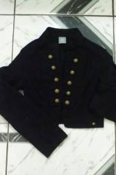 Jaqueta feminina marca hering estilo Militar