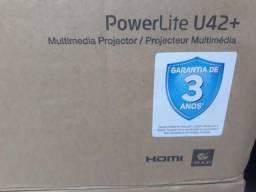 Multimedia Projector Epson PowerLite U42+ - Produto Novo, Pronta Entrega