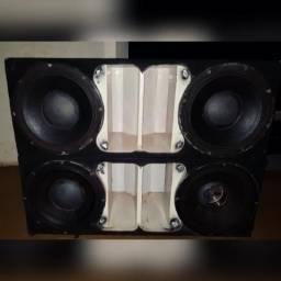 Troco 4 alto falantes snake 4.0 por alto falantes mas forte