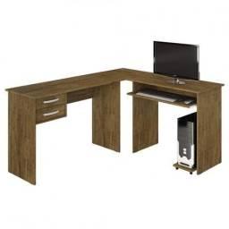 Conjuto Escritório - Mesa e estante