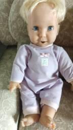 Boneca miracle baby antiga Bebê mattel