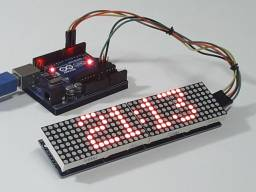 Display 8x32 Arduino