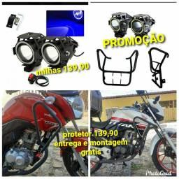 Protector moto 125 150 160 entrega e montagem grátis