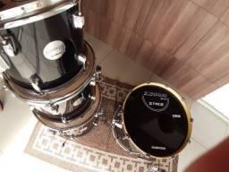 Bateria X Pro Drums Stage + brinde