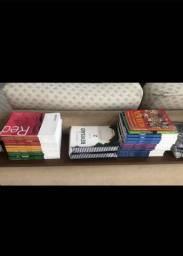 Coleção de livros poliedro ( Excelente para CFO/ Medicina)