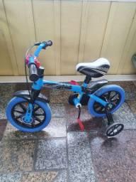 Bicicleta infantil aro 12 - pouco uso