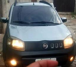 Fiat uno way 2013 2013 Flex gnv completo