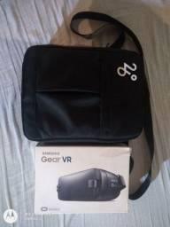 Drone JJRC X9P completo com óculos de realidade virtual Samsung Gear original semi novo