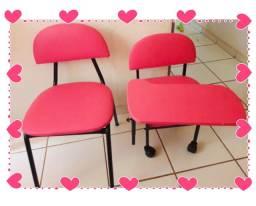 Cadeira cliente + Cirandinha Manicure