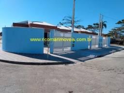 Casa Nova 3 dormitórios Bairro Bopiranga - Itanhaém