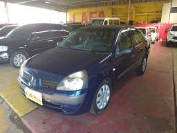 Renault/ Clio Sedan Authentique 1.0 gasolina 4pts, azul