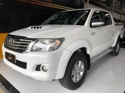 Toyota Hilux c.dupla 3.0 4x4 srv diesel automatica - 2014
