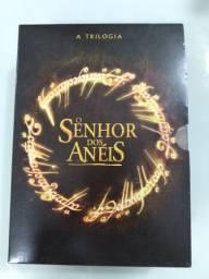 Box DVD trilogia senhor dos anéis + Hobbit a batalha dos cinco exercitos