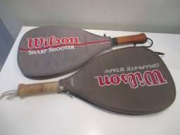 Par de raquetes Wilson Midsize Graphite Staff e Sharp Shooter
