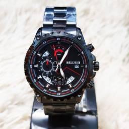 Relógio de luxo masculino original Belushi luxo topíssimo