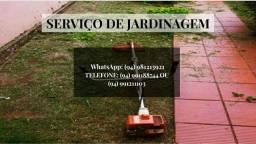 Serviços de jardinagem e pulverização
