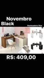 Novembro Black Pemteadeira Star