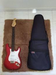 Guitarra Giannini G-100 (ggx-1s) + Capa p/ guitarra