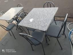 Conjunto de mesa nova 4 cadeiras, promoção