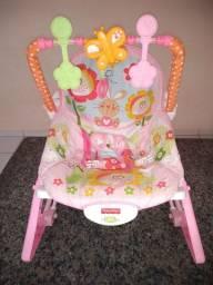 Cadeira de descanso Fischer Price - Borboletas