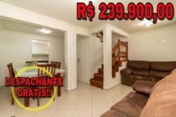 SO0201 - Sobrado 3 quartos, 2 banheiros, 2 vagas no Boqueirão - Curitiba
