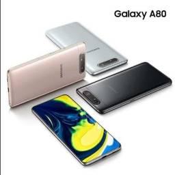 Samsung Galaxy A80 8/128GB Preto + NF