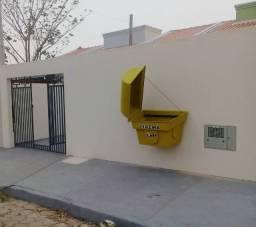 Lixeira residencial com tampa *