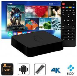 Smart tv box 4k 16gb novos entregamos