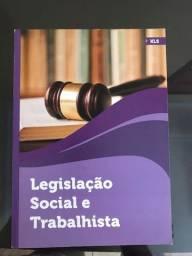 Livro Legislação Social e Tributaria