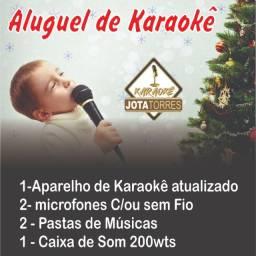 Karaoke para alugar - locação de videoke centro - SP