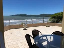Locação Temporada - Cobertura frente mar em Balneário Perequê