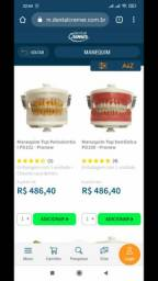 Vendo Manequim odontológico barato!