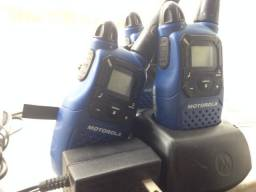 03 Walk talkies Motorola MC220 + 02 Audiovox GMRS1582CH