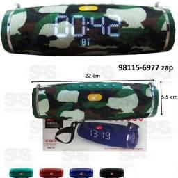 Caixa De Som Bluetooth Com Relógio Xtrad XDG-52